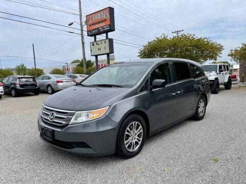 2013 Honda Odyssey for sale at Autohaus of Greensboro in Greensboro NC