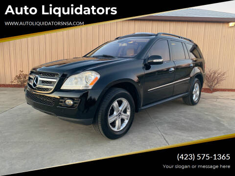 2008 Mercedes-Benz GL-Class for sale at Auto Liquidators in Bluff City TN