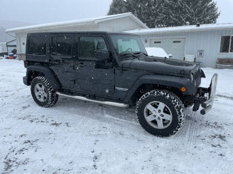 2012 Jeep Wrangler Unlimited for sale at Young's Automotive LLC in Stillwater PA