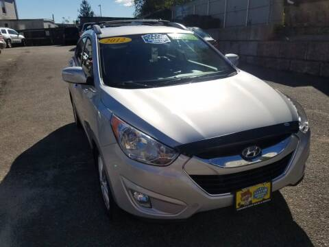 2012 Hyundai Tucson for sale at Fortier's Auto Sales & Svc in Fall River MA