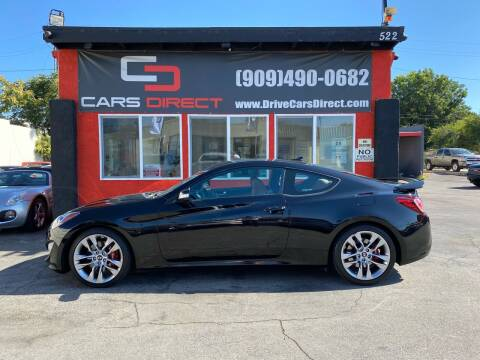 2016 Hyundai Genesis Coupe for sale at Cars Direct in Ontario CA