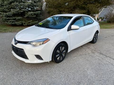 2015 Toyota Corolla for sale at Boston Auto Cars in Dedham MA