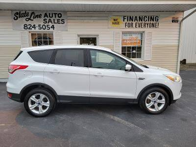 2014 Ford Escape for sale at STATE LINE AUTO SALES in New Church VA