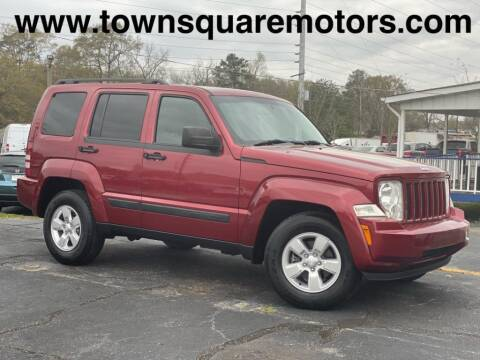 2012 Jeep Liberty for sale at Town Square Motors in Lawrenceville GA