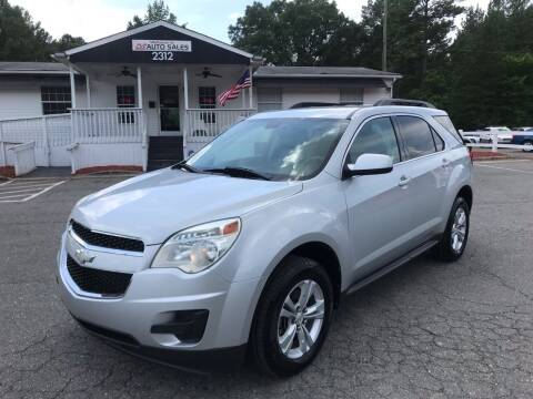 2012 Chevrolet Equinox for sale at CVC AUTO SALES in Durham NC