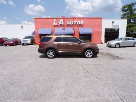 2011 Ford Explorer for sale at L A AUTOS in Omaha NE