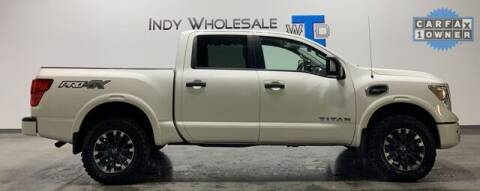 2017 Nissan Titan for sale at Indy Wholesale Direct in Carmel IN
