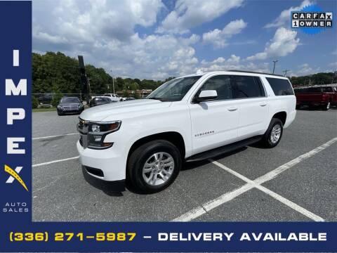 2019 Chevrolet Suburban for sale at Impex Auto Sales in Greensboro NC