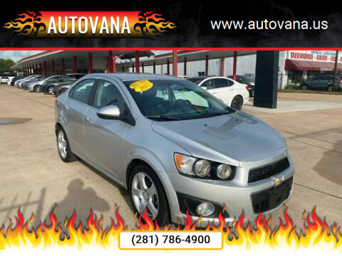 2015 Chevrolet Sonic for sale at AutoVana in Humble TX