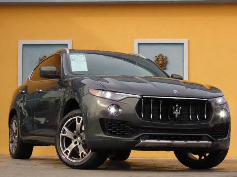 2017 Maserati Levante for sale at Paradise Motor Sports LLC in Lexington KY
