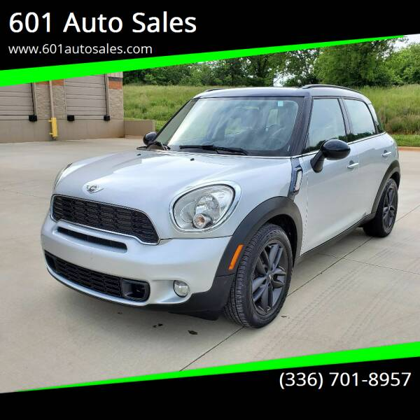2011 MINI Cooper Countryman for sale at 601 Auto Sales in Mocksville NC