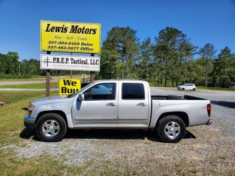 2012 Chevrolet Colorado for sale at Lewis Motors LLC in Deridder LA