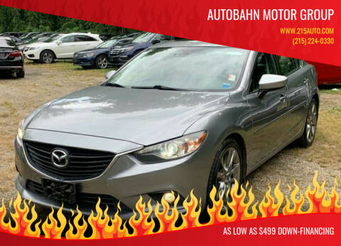 2014 Mazda MAZDA6 for sale at Autobahn Motor Group in Willow Grove PA