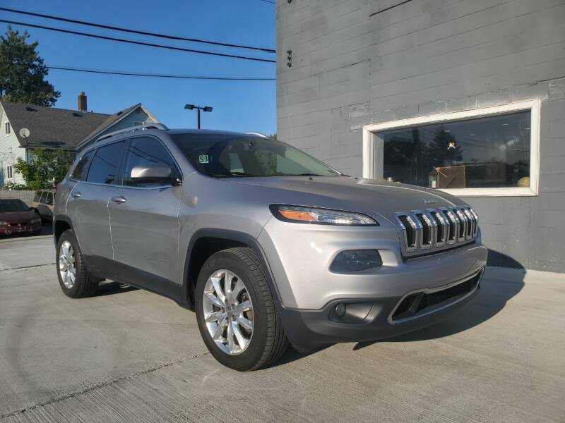 2016 Jeep Cherokee for sale at Julian Auto Sales, Inc. - Number 1 Car Company in Detroit MI