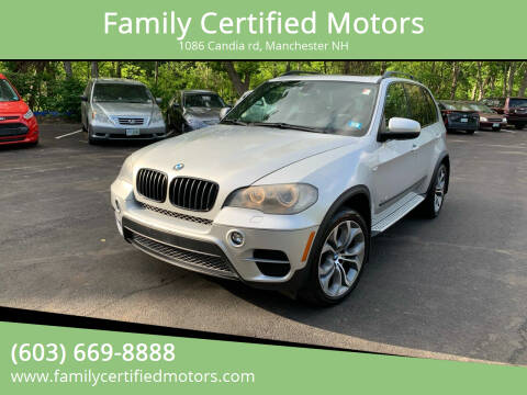 2011 BMW X5 for sale at Family Certified Motors in Manchester NH