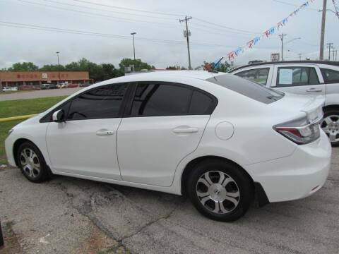 2015 Honda Civic for sale at NATHAN'S AUTOMOTIVE INC in Noble OK