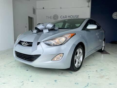 2013 Hyundai Elantra for sale at The Car House of Garfield in Garfield NJ
