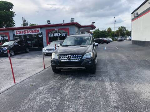2009 Mercedes-Benz M-Class for sale at CARSTRADA in Hollywood FL