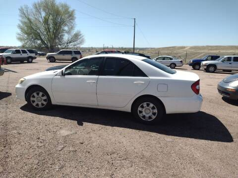 2004 Toyota Camry for sale at PYRAMID MOTORS - Pueblo Lot in Pueblo CO