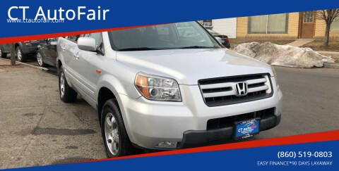 2006 Honda Pilot for sale at CT AutoFair in West Hartford CT