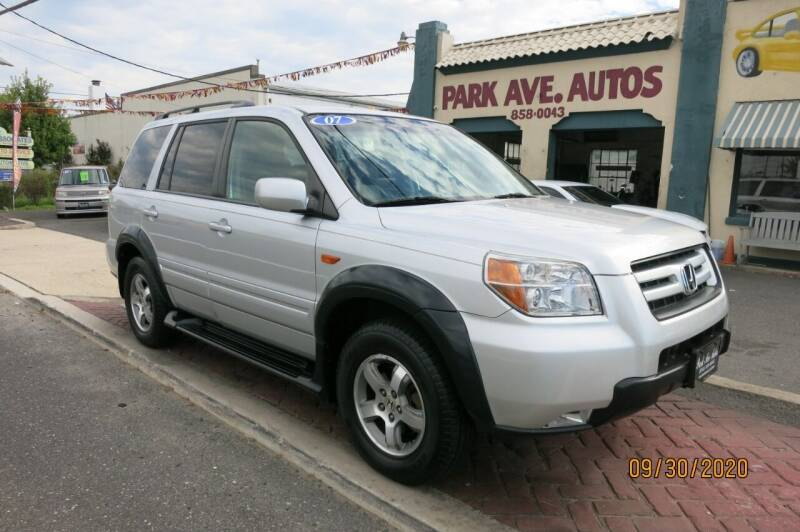 2007 Honda Pilot for sale at PARK AVENUE AUTOS in Collingswood NJ