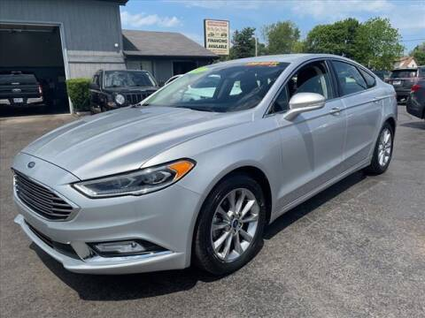 2017 Ford Fusion for sale at HUFF AUTO GROUP in Jackson MI