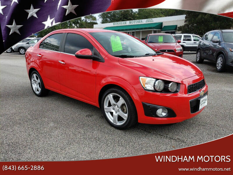 2015 Chevrolet Sonic for sale at Windham Motors in Florence SC