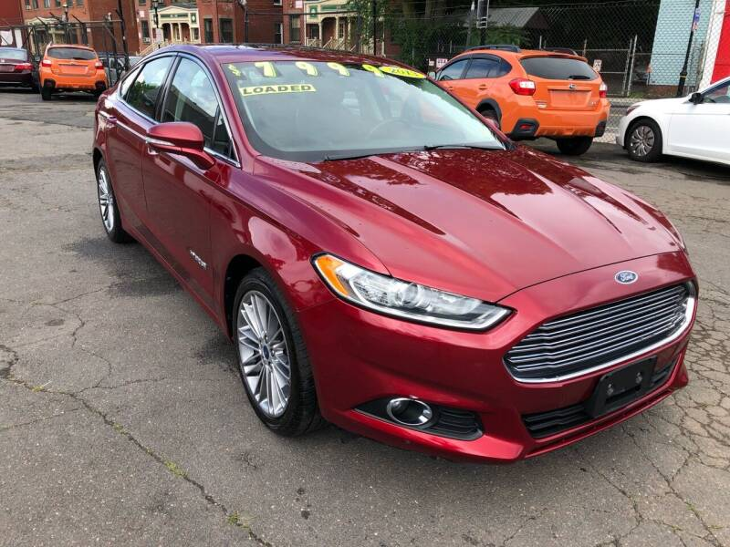 2013 Ford Fusion Hybrid for sale at James Motor Cars in Hartford CT