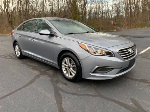 2016 Hyundai Sonata for sale at Volpe Preowned in North Branford CT