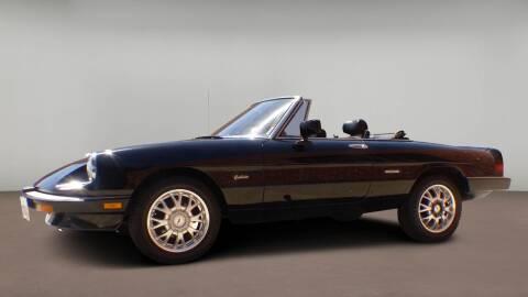 1988 Alfa Romeo Spider for sale at At My Garage Motors in Denver Metro Area CO