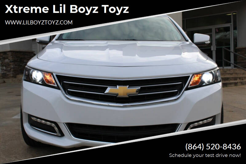 2019 Chevrolet Impala for sale at Xtreme Lil Boyz Toyz in Greenville SC