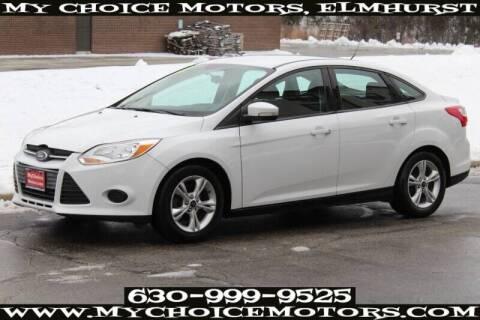 2014 Ford Focus for sale at My Choice Motors Elmhurst in Elmhurst IL