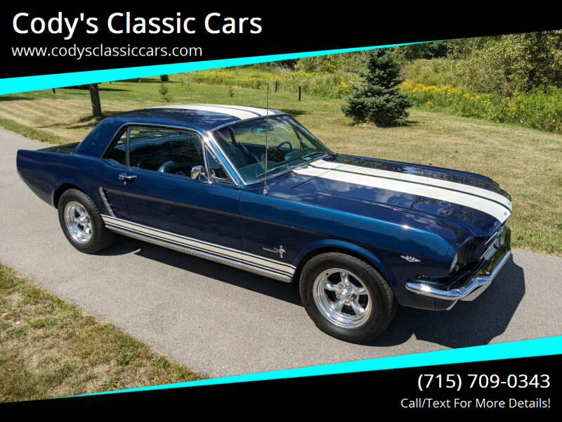 1965 Ford Mustang for sale at Cody's Classic Cars in Stanley WI