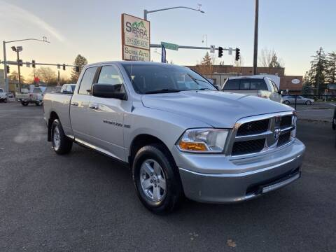 2011 RAM Ram Pickup 1500 for sale at SIERRA AUTO LLC in Salem OR