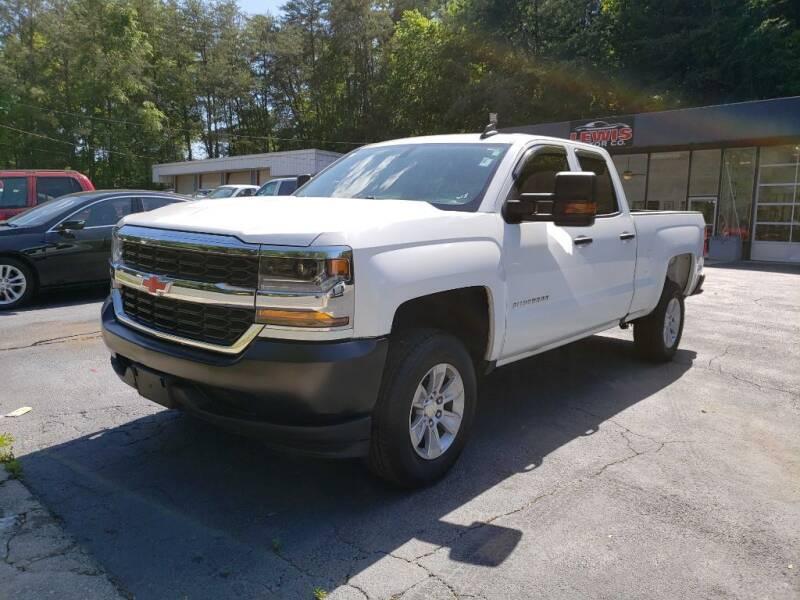 2017 Chevrolet Silverado 1500 for sale at Curtis Lewis Motor Co in Rockmart GA