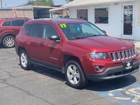 2017 Jeep Compass for sale at Robert Judd Auto Sales in Washington UT