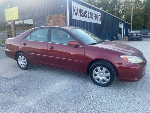 2003 Toyota Camry for sale at Kansas Car Finder in Valley Falls KS