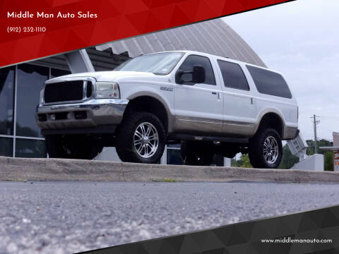 2001 Ford Excursion for sale at Middle Man Auto Sales in Savannah GA