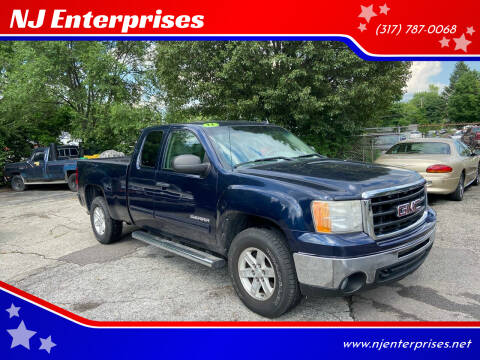 2011 GMC Sierra 1500 for sale at NJ Enterprises in Indianapolis IN