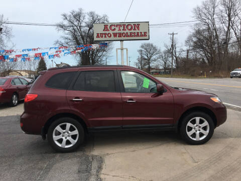 2009 Hyundai Santa Fe for sale at Action Auto Wholesale in Painesville OH