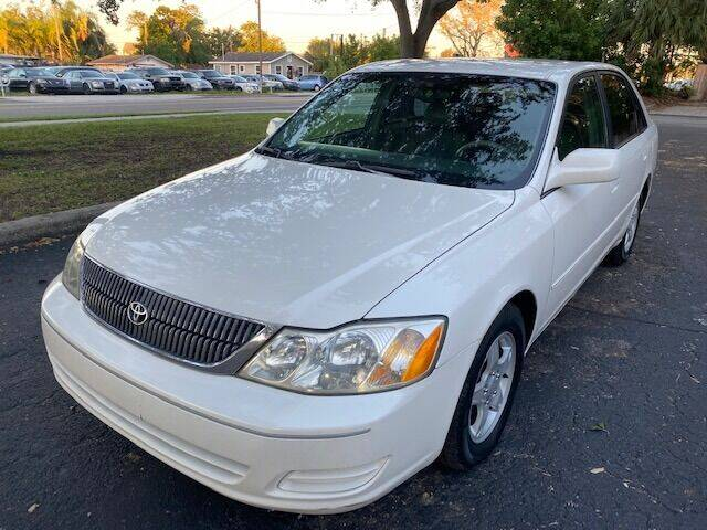 2000 Toyota Avalon for sale at Florida Prestige Collection in St Petersburg FL