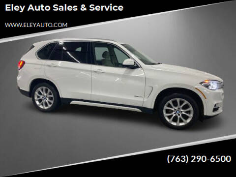 2015 BMW X5 for sale at Eley Auto Sales & Service in Loretto MN