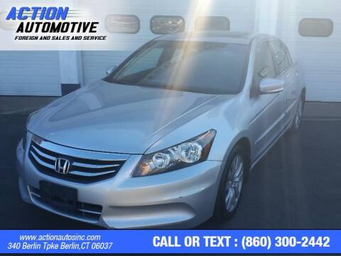 2012 Honda Accord for sale at Action Automotive Inc in Berlin CT