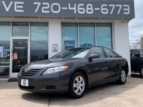 2009 Toyota Camry for sale at Shift Automotive in Denver CO