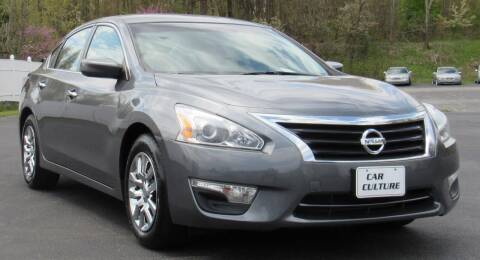 2015 Nissan Altima for sale at Car Culture in Warren OH
