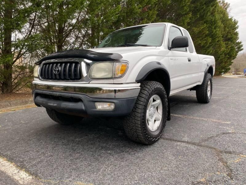2001 Toyota Tacoma for sale at Lenoir Auto in Lenoir NC