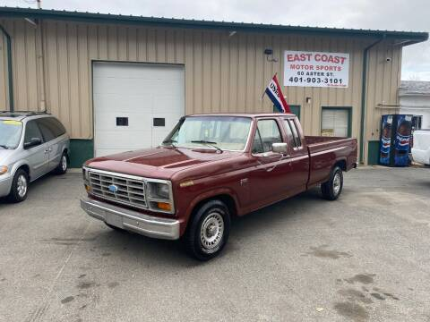 1984 Ford F-150 for sale at East Coast Motor Sports in West Warwick RI