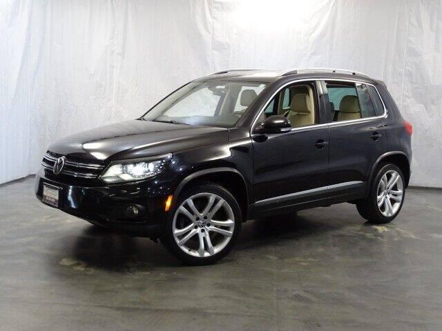 2013 Volkswagen Tiguan for sale at United Auto Exchange in Addison IL