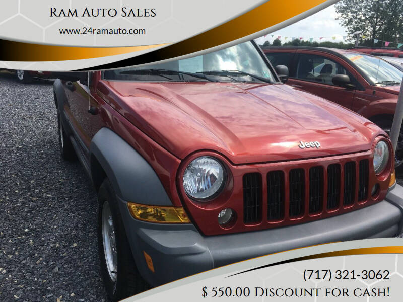 2006 Jeep Liberty for sale at Ram Auto Sales in Gettysburg PA