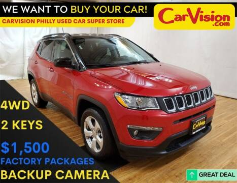 2018 Jeep Compass for sale at Car Vision Mitsubishi Norristown - Car Vision Philly Used Car SuperStore in Philadelphia PA